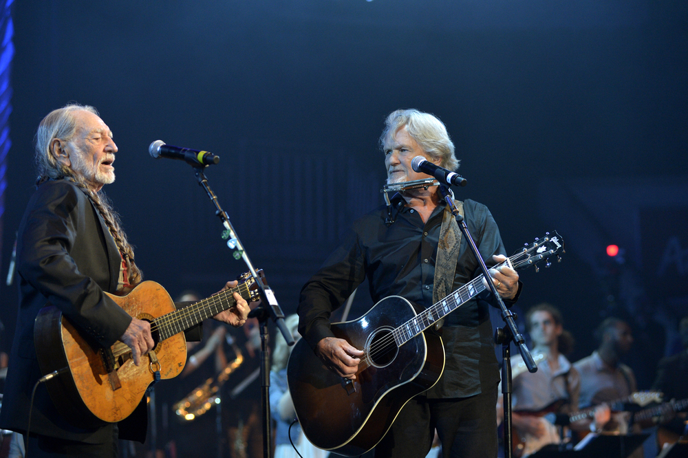 Willie Nelson and Kris Kristofferson