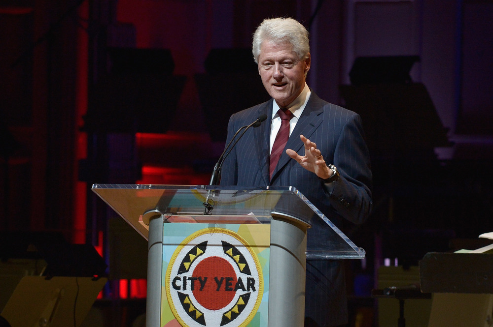 Bill Clinton City Year Legacy Award at Boston Pops