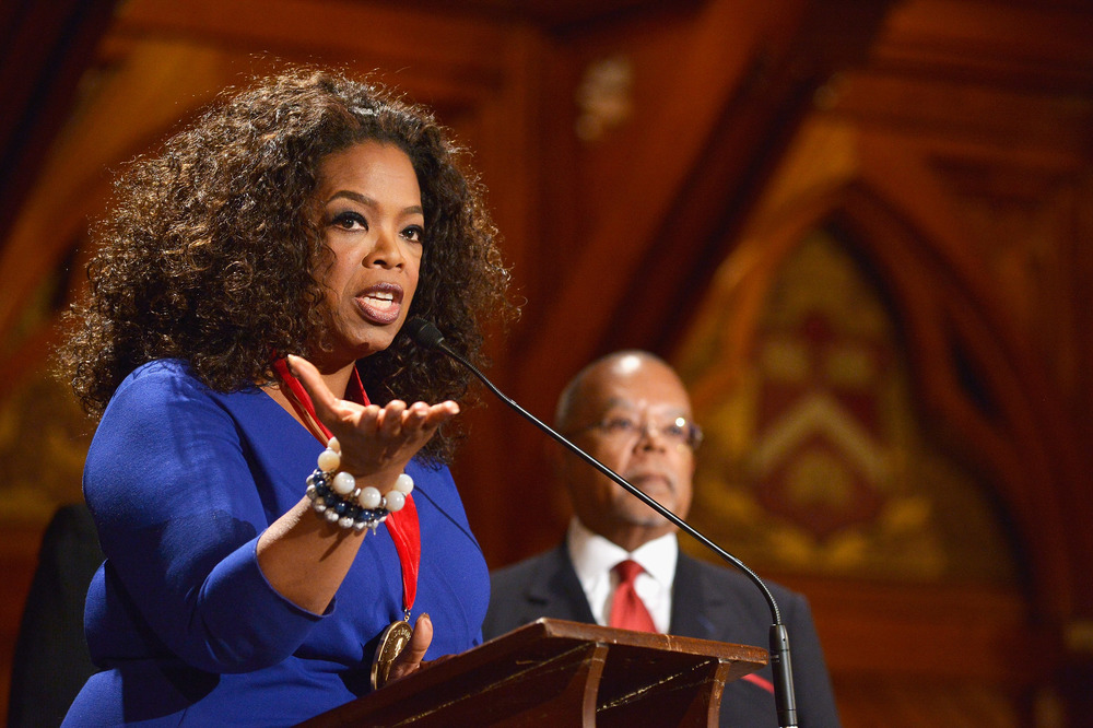 Oprah Winfrey at Harvard