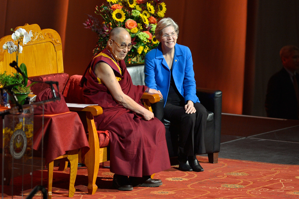 His Holiness The Dalai Lama at TD Garden