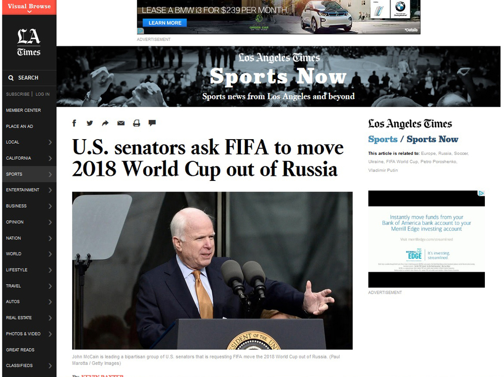 McCain Kennedy LA Times Russia FIFA.jpg