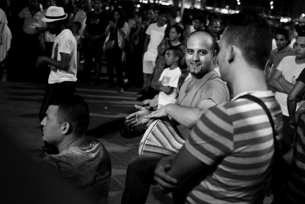Marseille Syrian Refugee Community Drum Circle