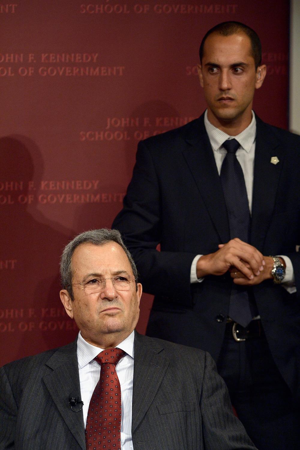 Ehud Barak at Harvard