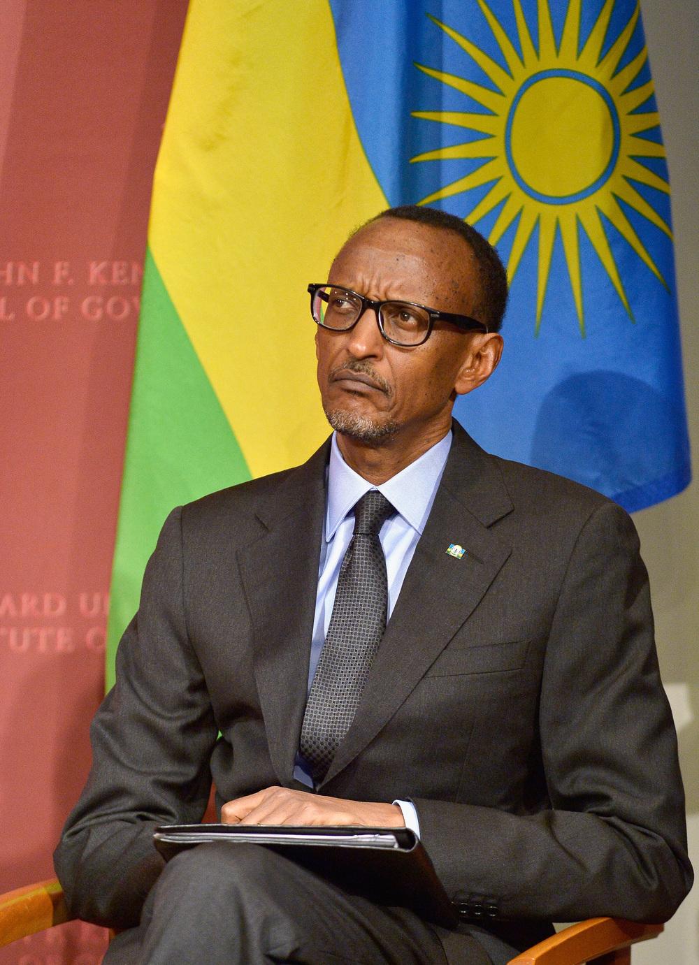 Rwandan President Paul Kagame at Harvard