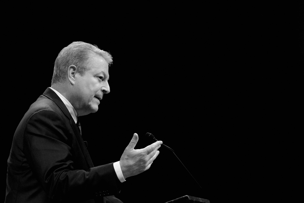 Al Gore at Harvard