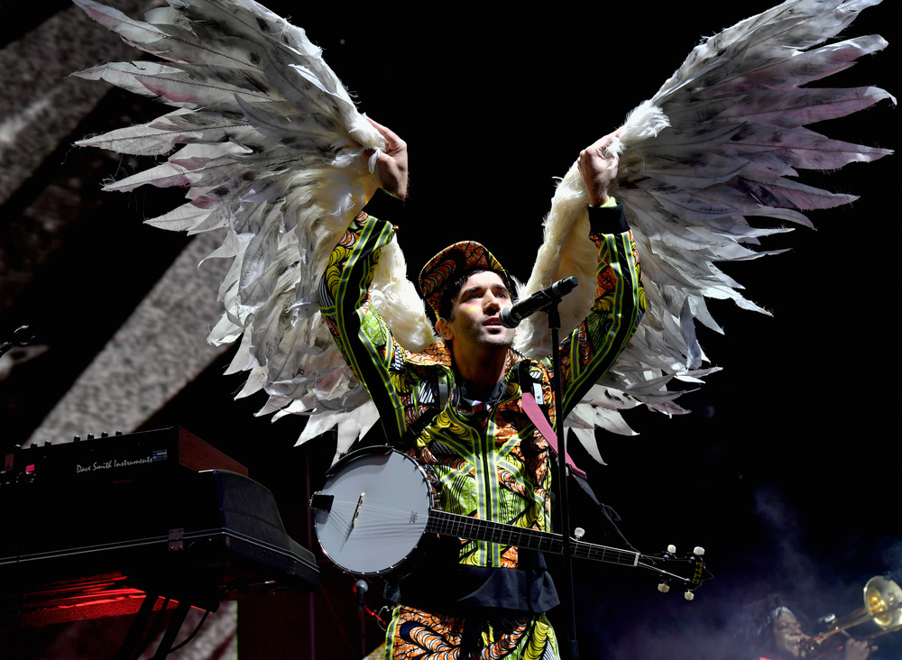 Sufjan Stevens at Boston Calling