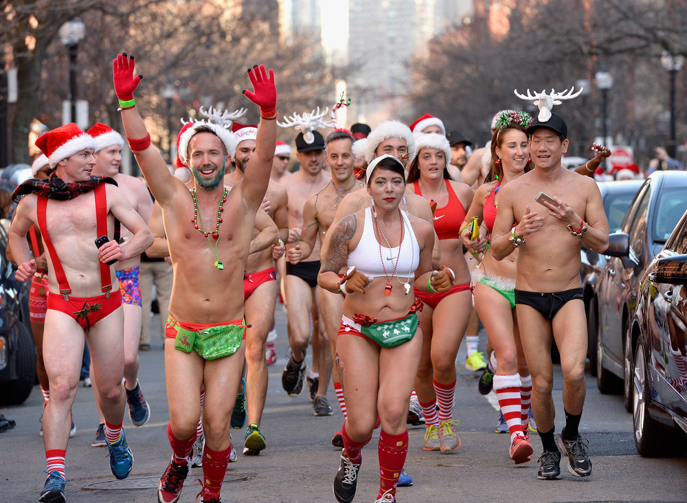 2015 Santa Speedo Run