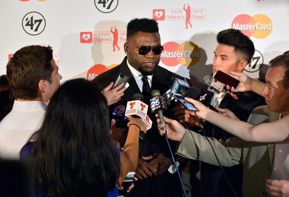 Red Sox Slugger David Ortiz