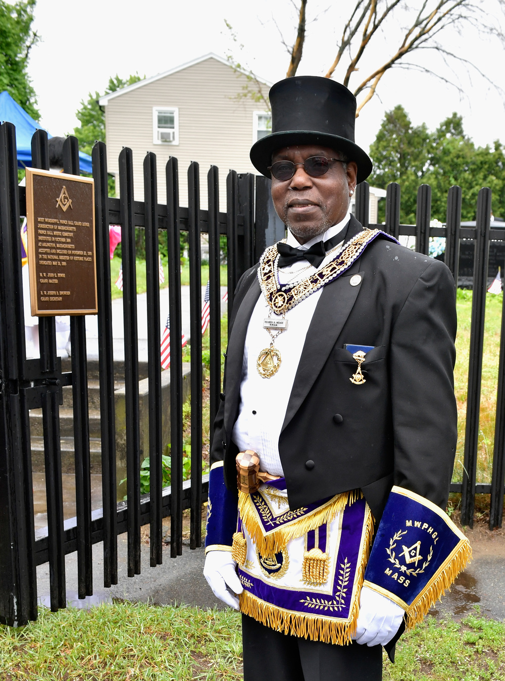 Freemason's Prince Hall Lodge Marks Memorial Day
