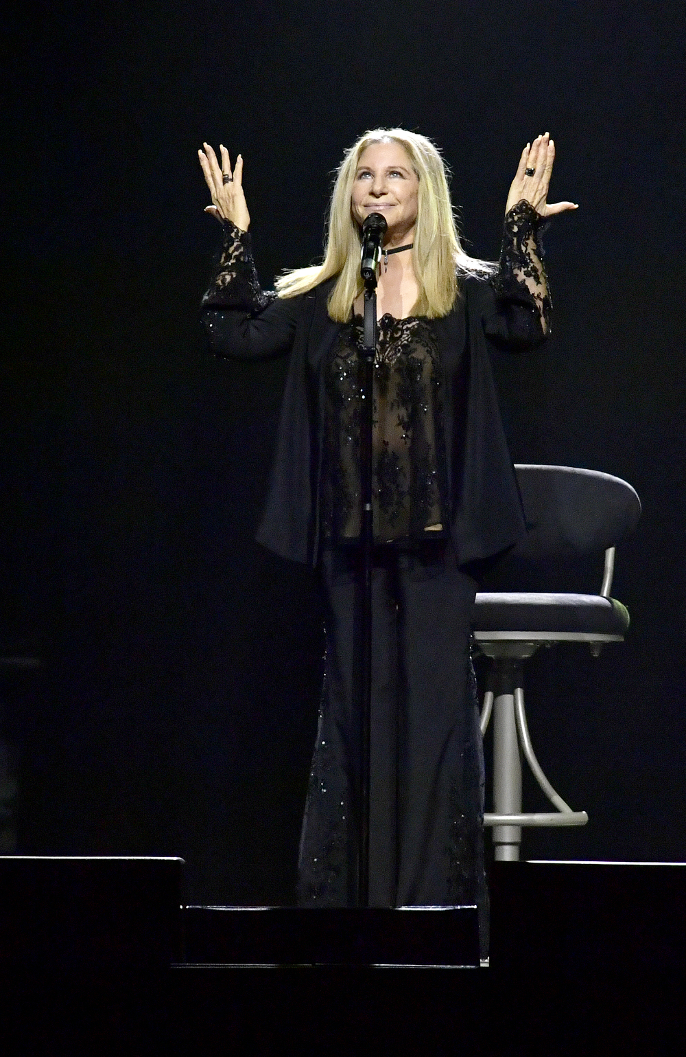 Barbra Streisand for Getty Images at TD Garden