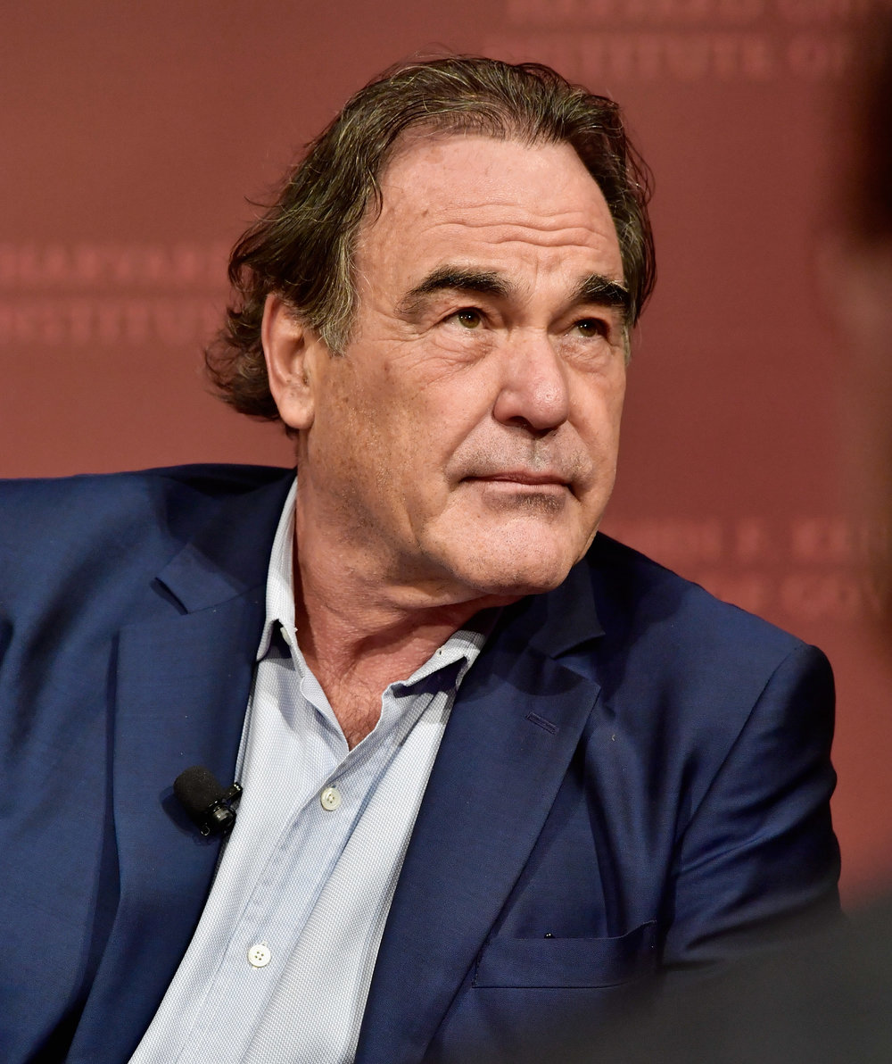 Oliver Stone discusses SNOWDEN at Harvard