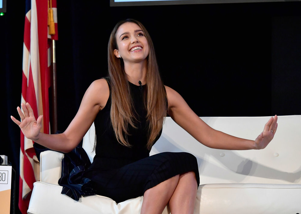 Jessica Alba at Forbes Under 30