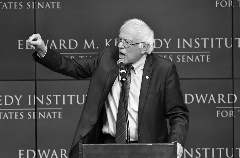 Bernie Sanders at Edward M. Kennedy Institute