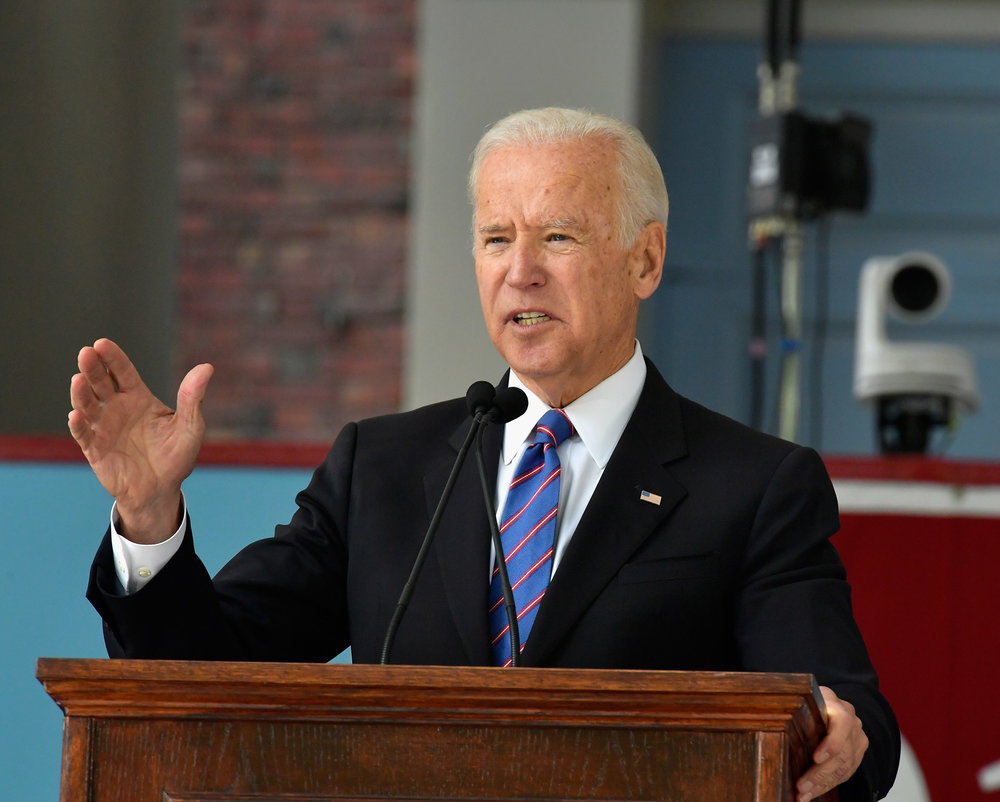 Joe Biden at Harvard Commencement