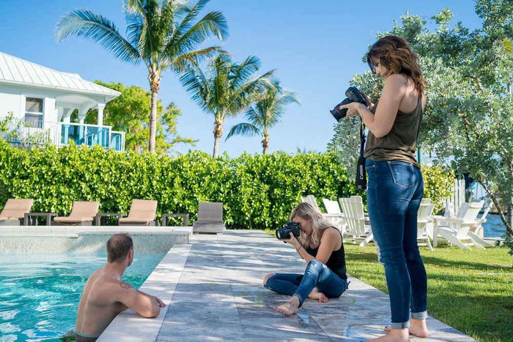 BTS from 2017's MIAMI retreat | Shot by  Michael Sasser