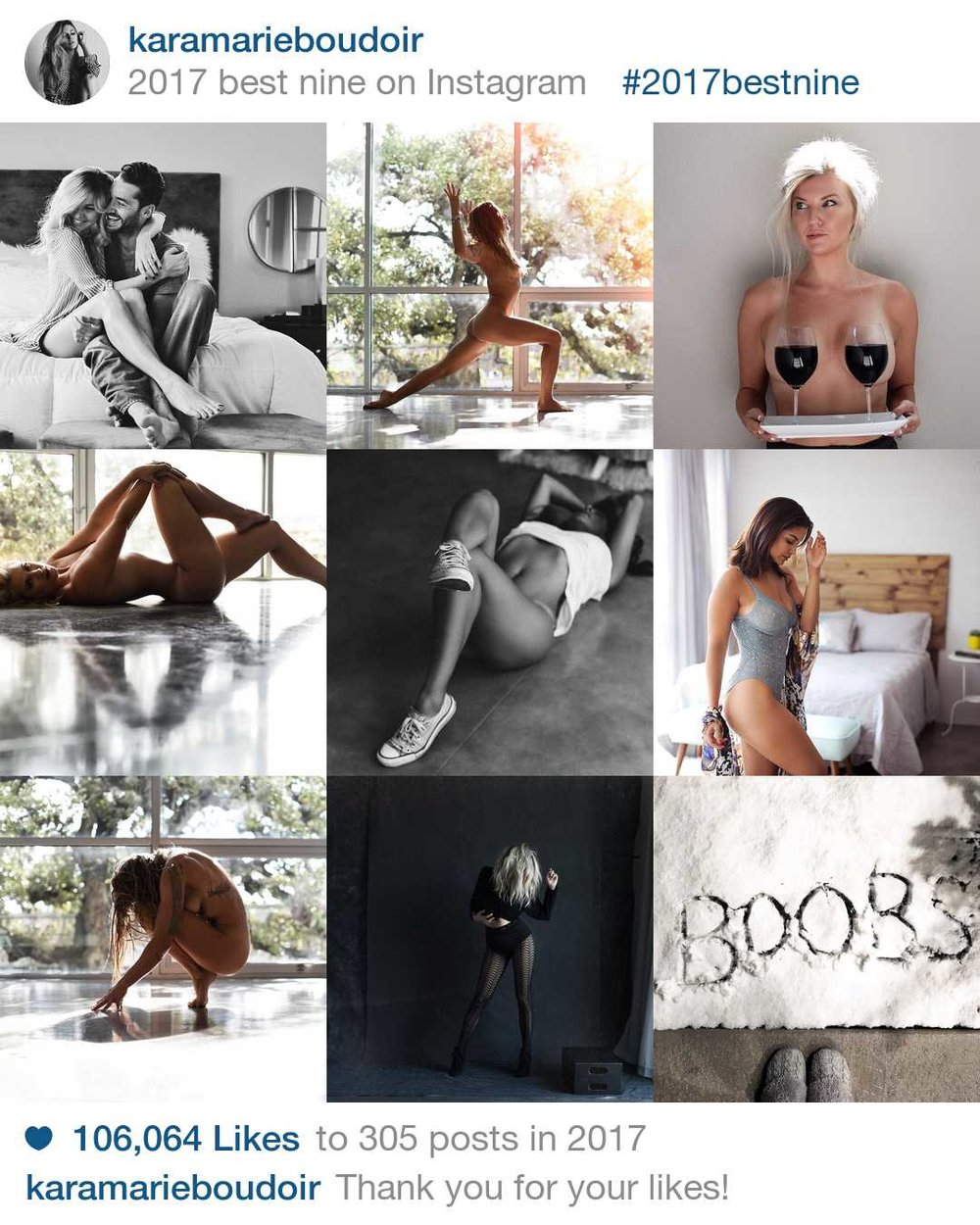 Follow @KaraMarieBoudoir on Instagram HERE.