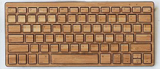 West Elm - Bamboo bluetooth keyboard