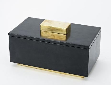 West Elm - Stone jewelry box