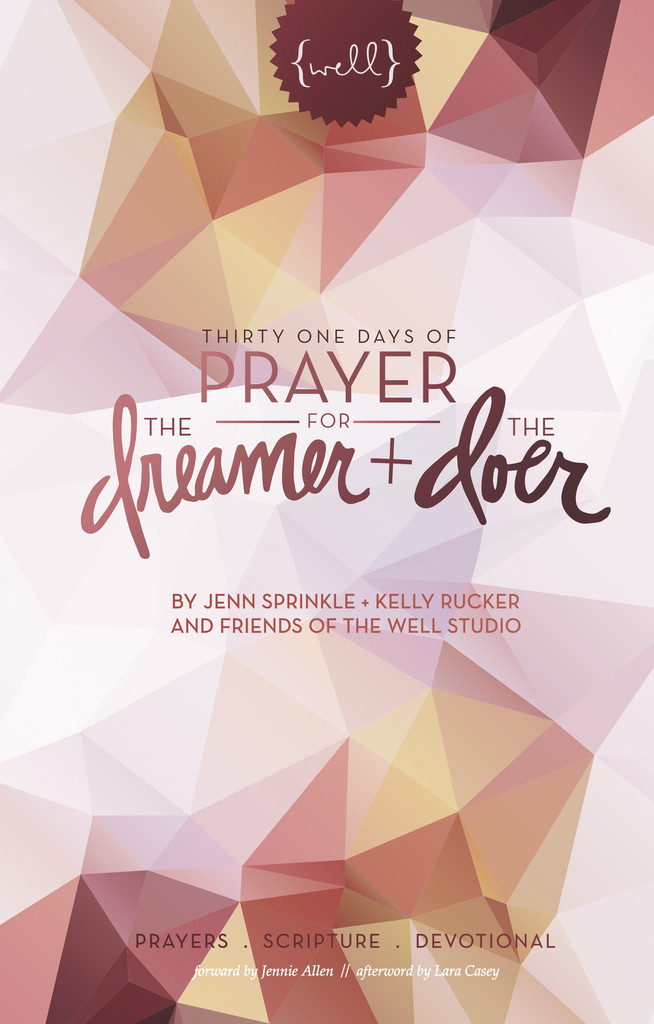 http://www.givingtons.com/collections/the-well-esther-havens/products/thirty-one-days-of-prayer-for-the-dreamer-and-the-doer