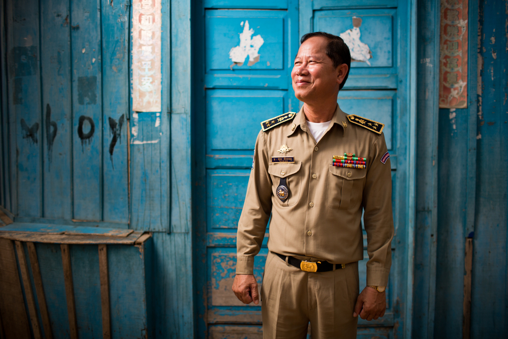 Director of Cambodia's National Anti-Human Trafficking and Juvenile Protection Police