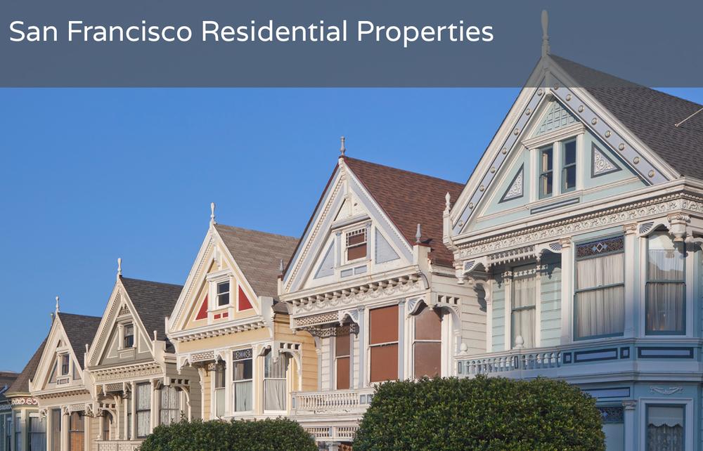 San Francisco Residential Properties