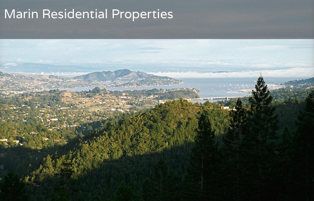 Marin Residential Properties