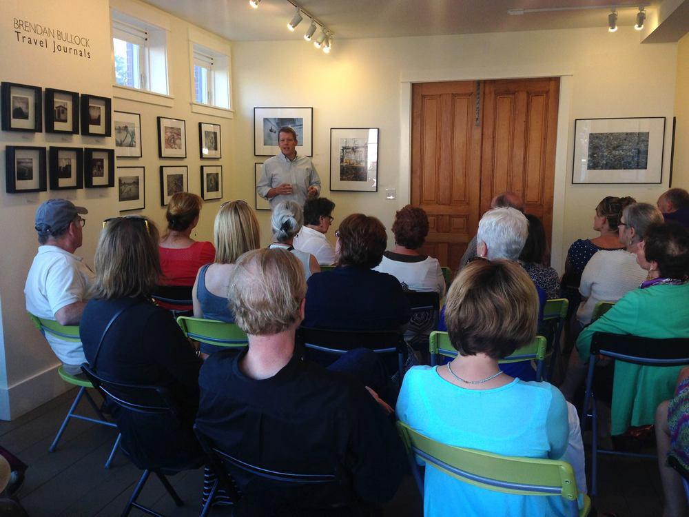 Brendan Bullock's Artist Talk | August 2014