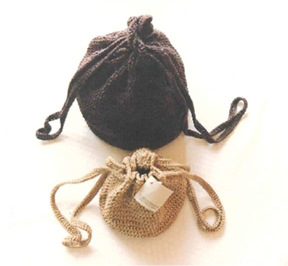 Hand Crocheted Large & Small Handbags