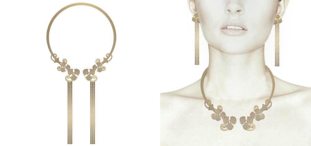 Motif 1 Collar Necklace Gold.jpg