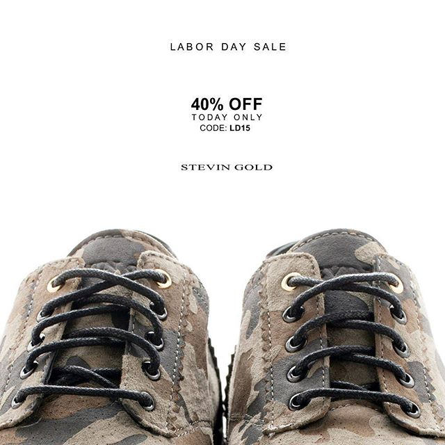 LABOR DAY SALE. Shop Now @ stevingold.com  #laborday #labordayweekend #labordayfashion #footwear #sneakersaddict #camo #camouflage. #fashionfootwear #nicekicks #kickstagram #kicks #losangeles #chicago #tokyo #london #hongkong #paris #nyc #streetstyle #streetstyle #miami #mensfashion #labordaysale