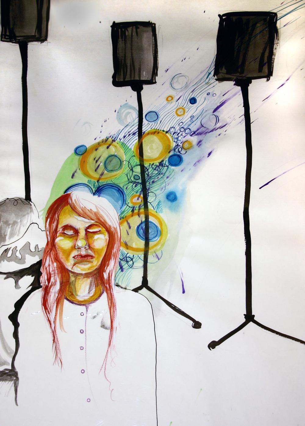 Paint - Girl with speakers.jpg