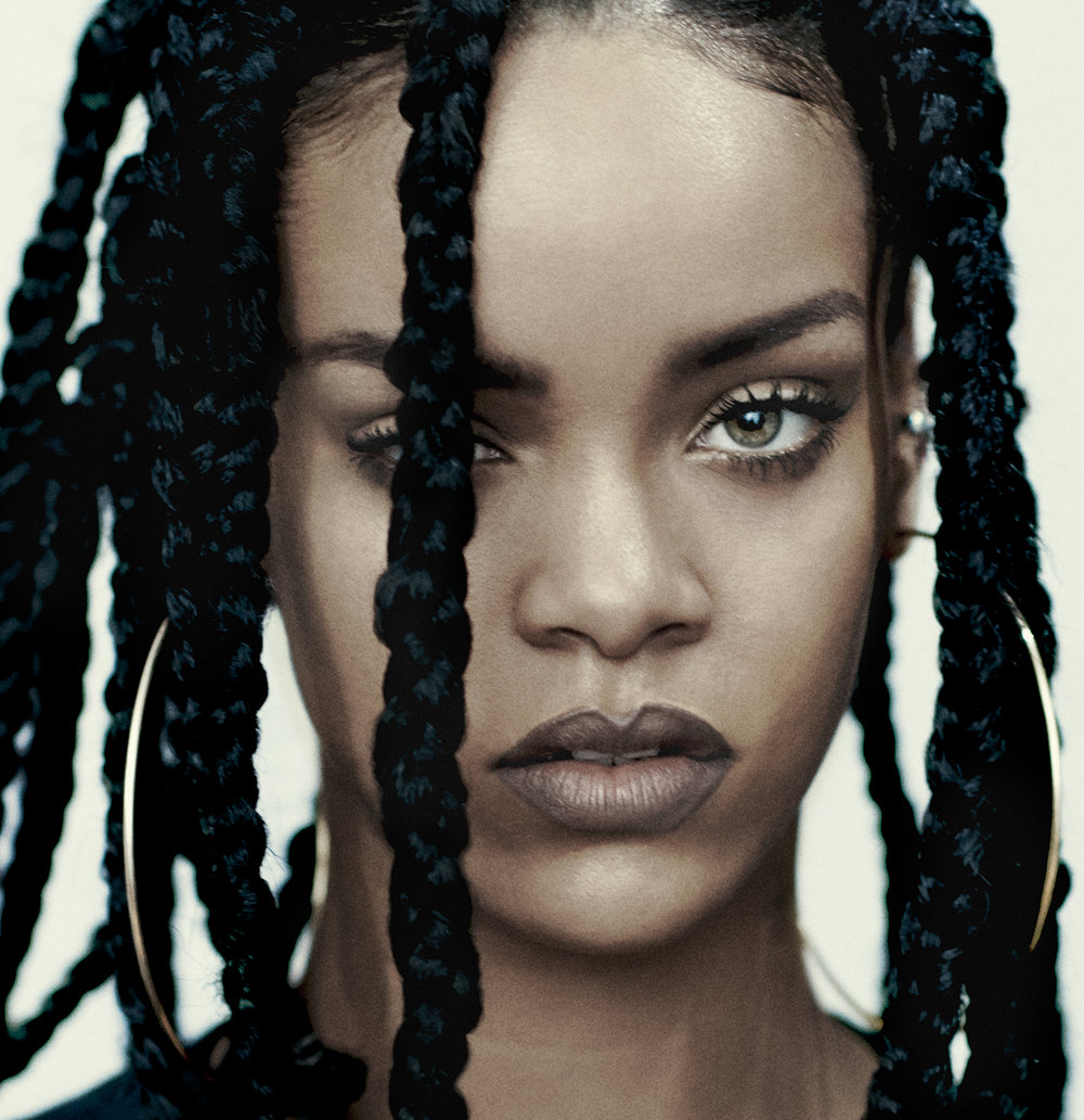Alastair McKimm - Fashion Director Alastair McKimm highlights singer / songwriter Rhianna for this I-D  cover - Spring 2015