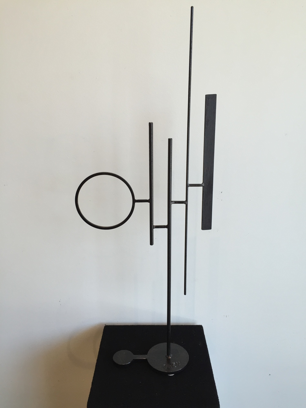 JEFF OWEN //  Innuendo  • 34 X 13 X 4.5 • Painted Steel • WAS $840 // NOW $700
