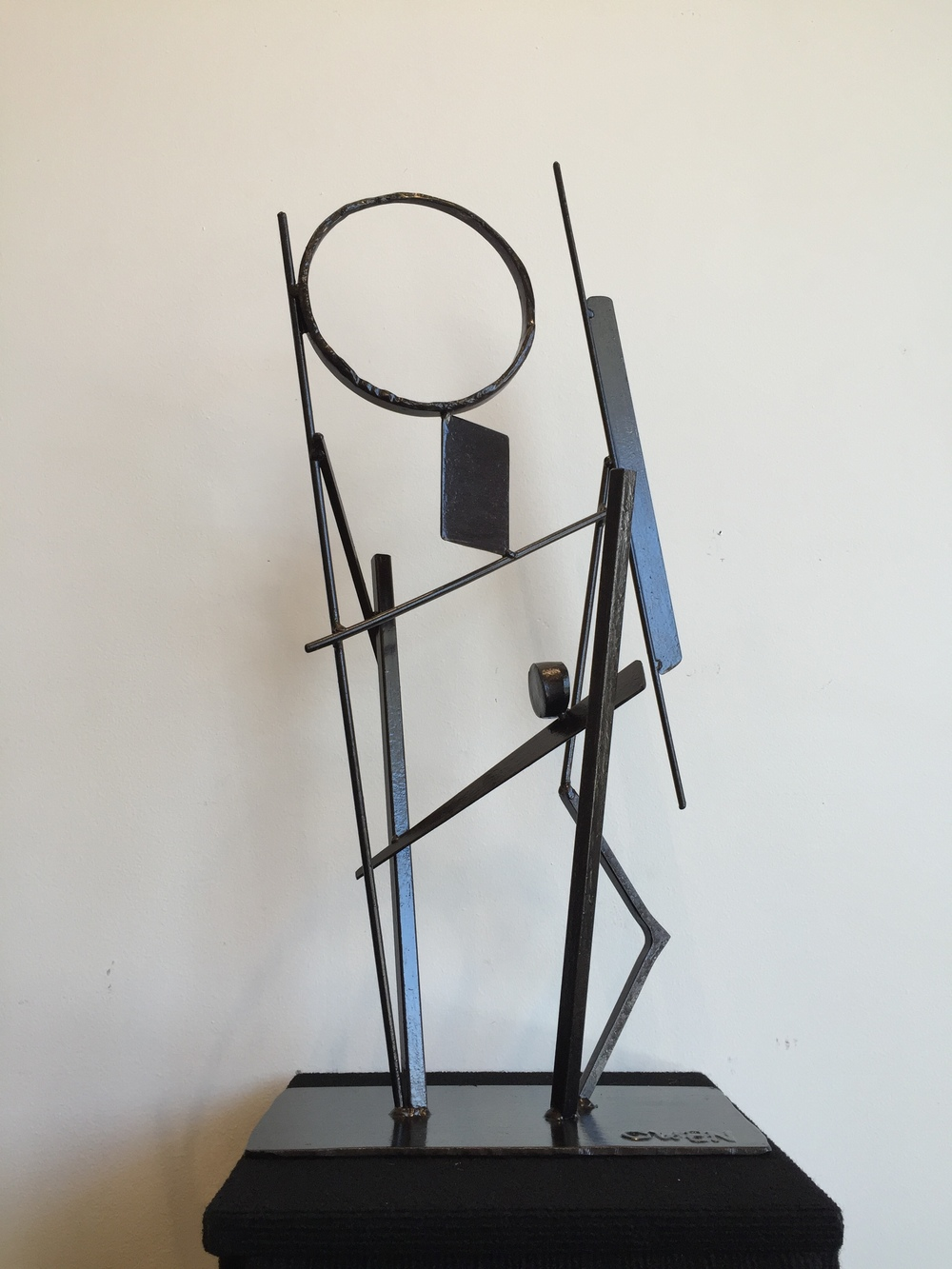 JEFF OWEN // Ascent • 28 X 12 X 7 • Painted Steel • WAS $960 // NOW $800