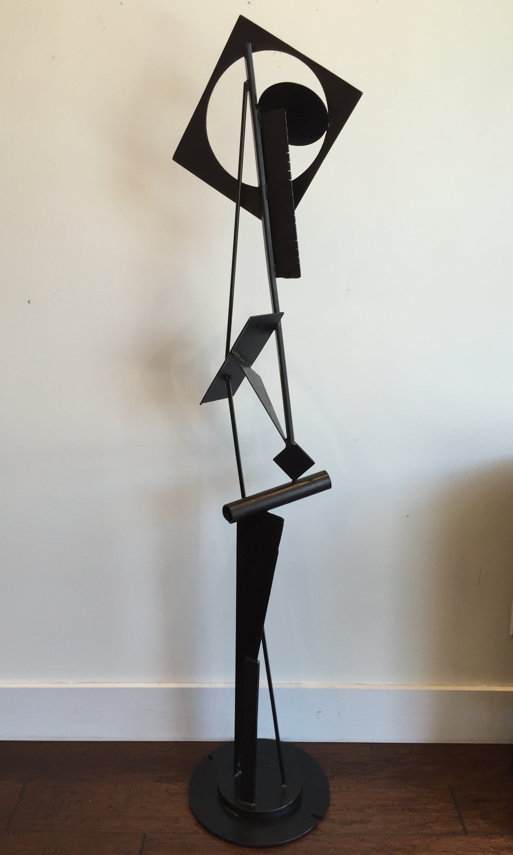 JEFF OWEN // Inverse • 76 X 18 X 16 • Painted Steel • WAS $2,640 / NOW $2,200