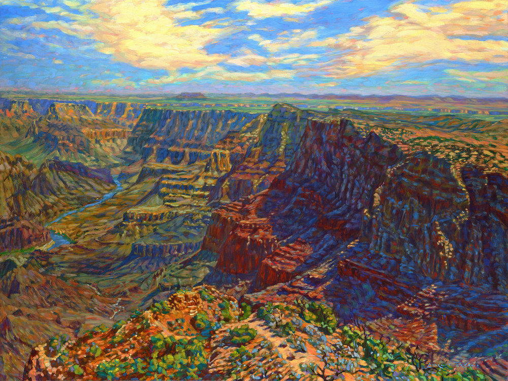 EAST OF EDEN  • 30 X 40 • OIL ON CANVAS •   RETAIL: $5,900 // ART FAIR:  $4,720