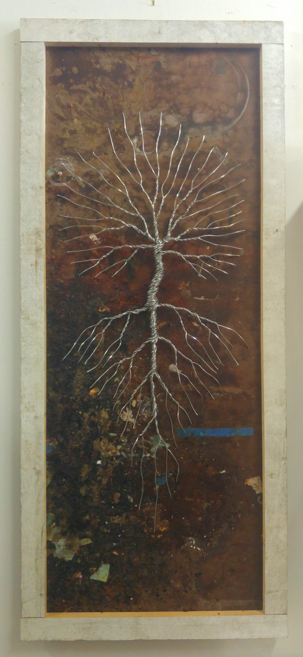 Tabletop / Reverie • 75 X 32 • wire, wood •  $1795
