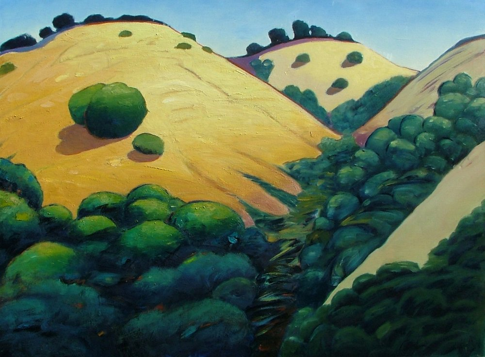 RUGGED HIKE •  30 X 40 • OIL ON CANAVS •  $995