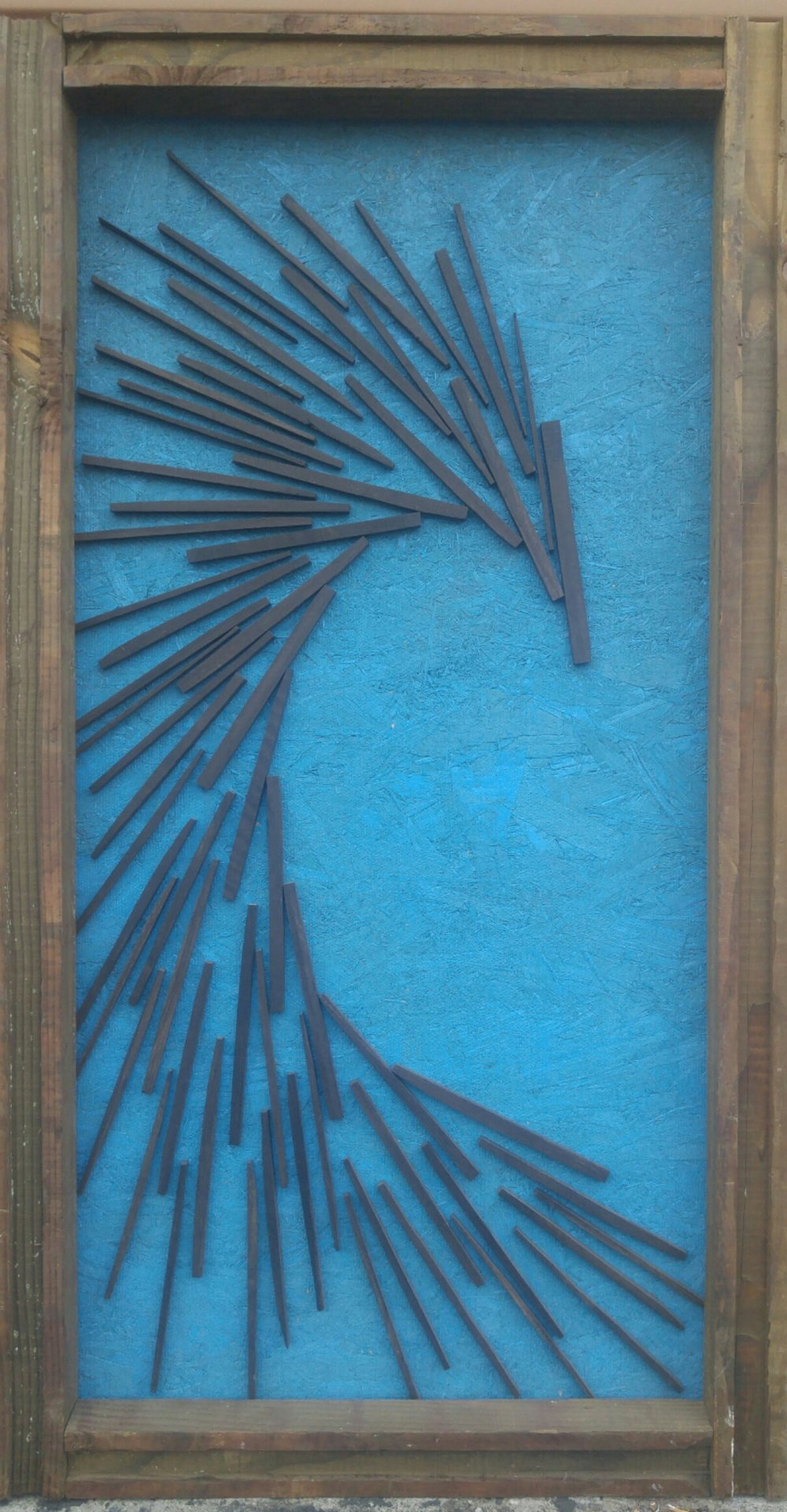 Dark Matter   43 X 24 • reclaimed wood   $495