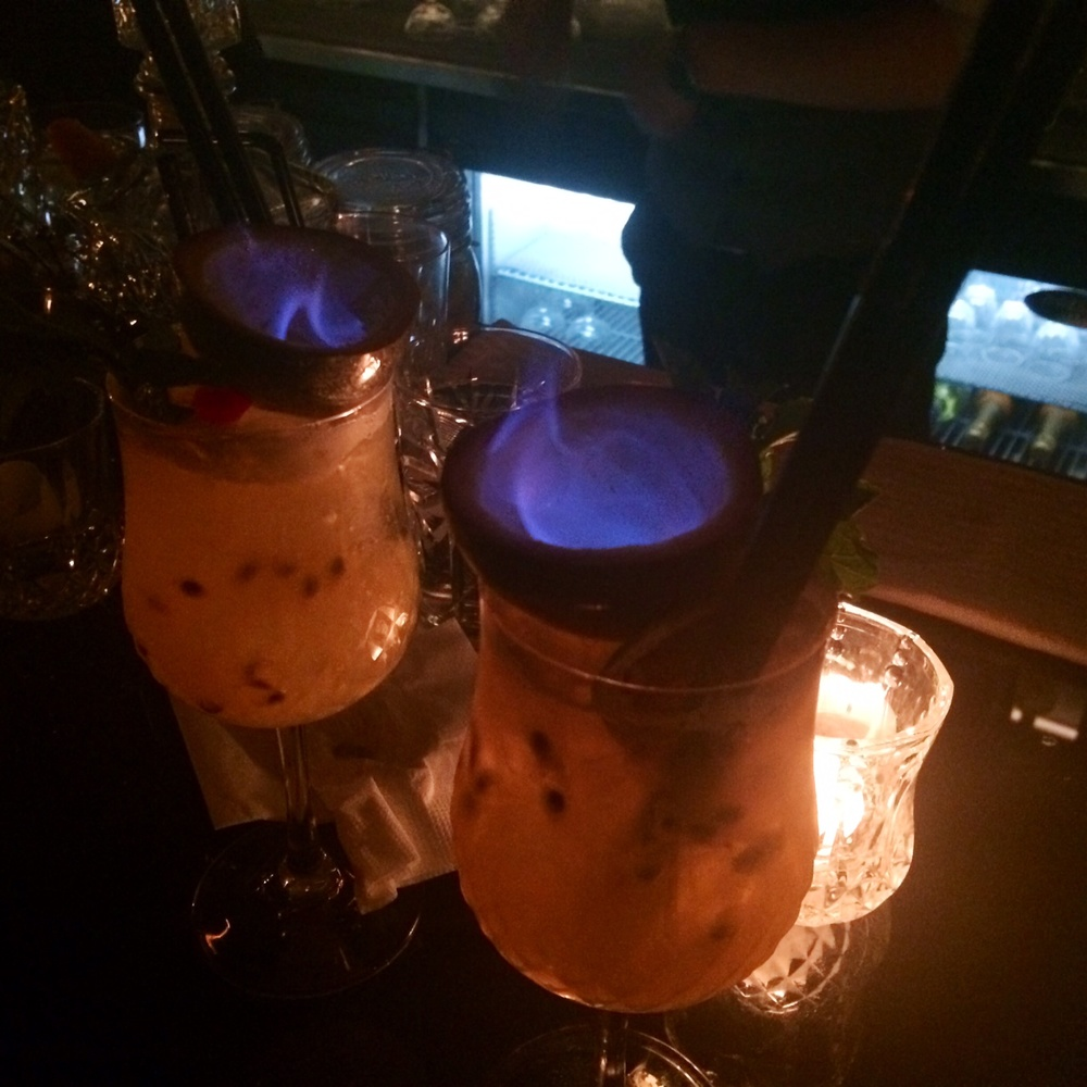Flaming Passion Fruit Special
