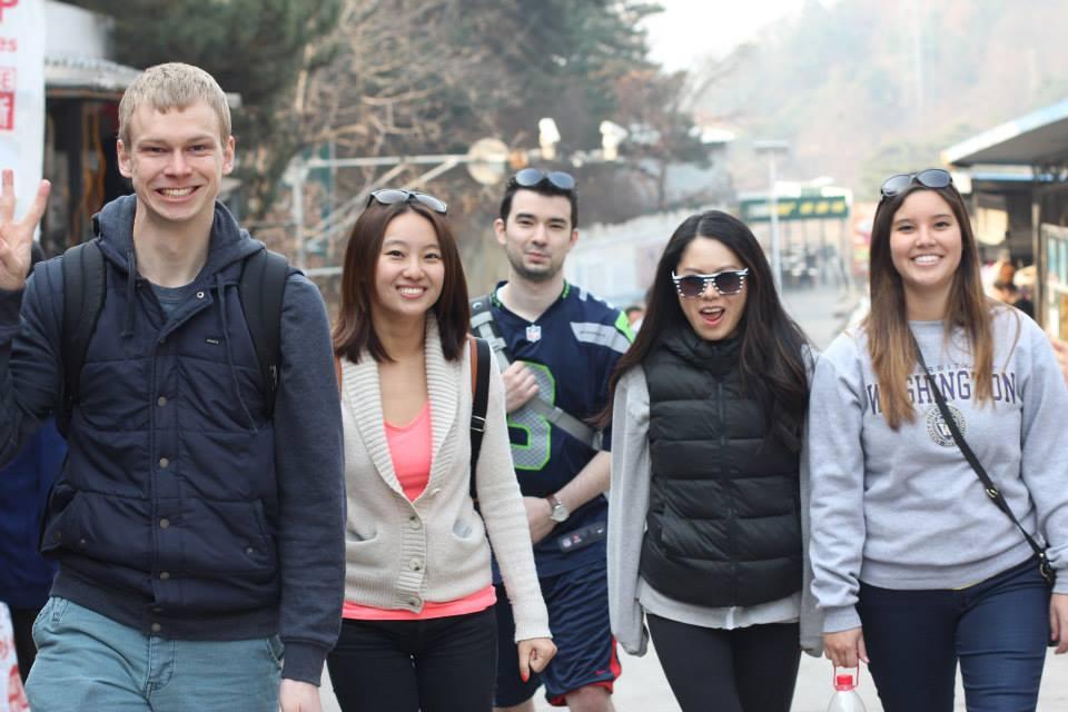 UW HUSKIES Seattle to Beijing ;)