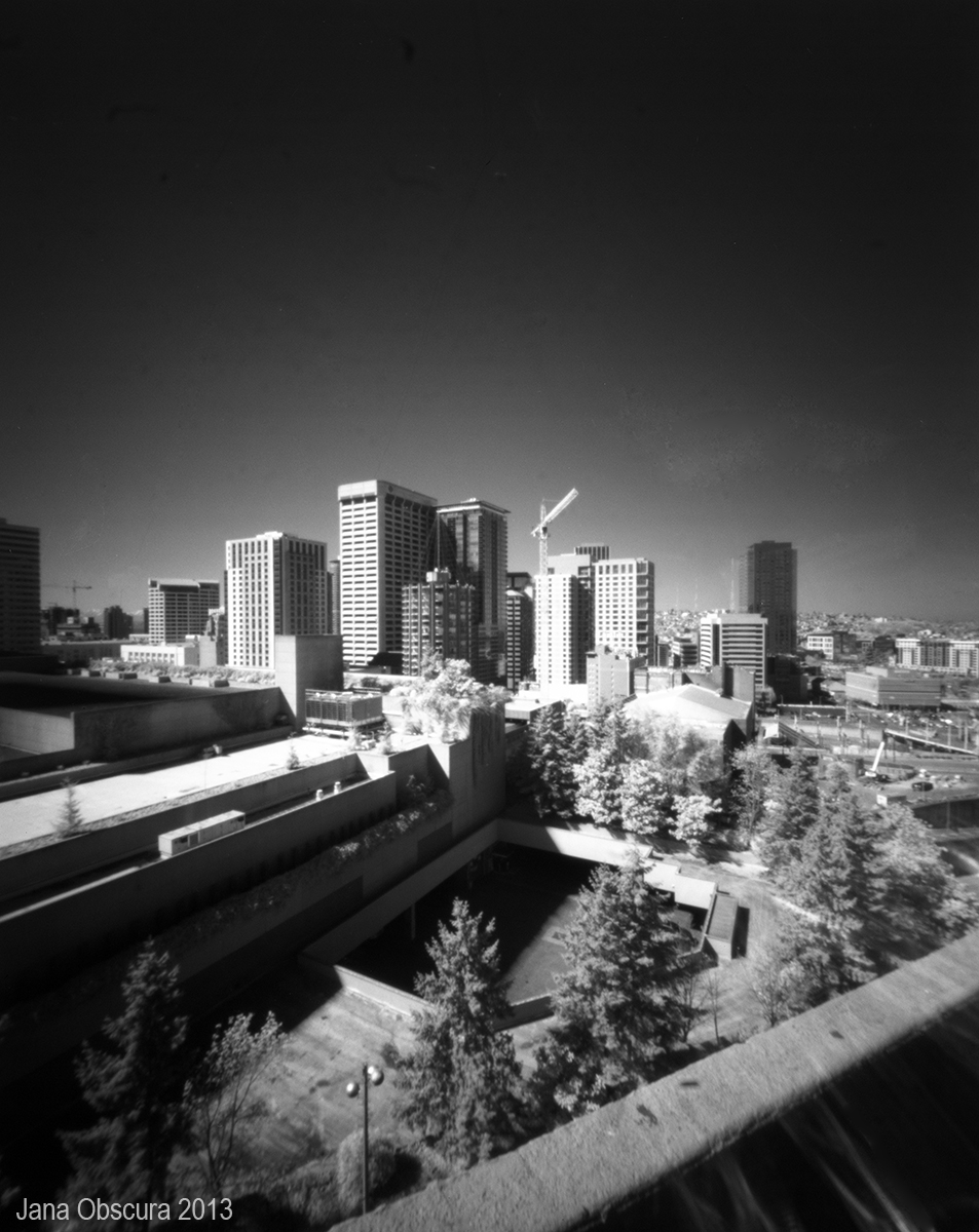 Seattle IR cityscape