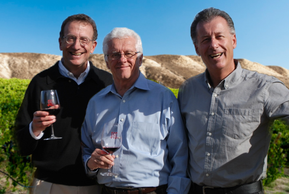 Wineworks Management Team (L-R) Sam Bronfman, CEO;  Bill Piersol, Senior Advisor of Marketing & Planning, Steve Cousins, President.