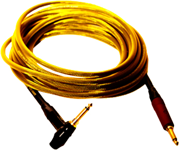 20' ULTIMATE GOLD Instrument Cable Ultimate Gold Instrument Cables feature a Nuetrik Straight Silent plug and Timbre Adjustable Right Angle Silent Plug. Timbre adjustment changes the #BUTTERYTONE level from the connection system go from Neutral Clear, to Warm Characteristics tones.