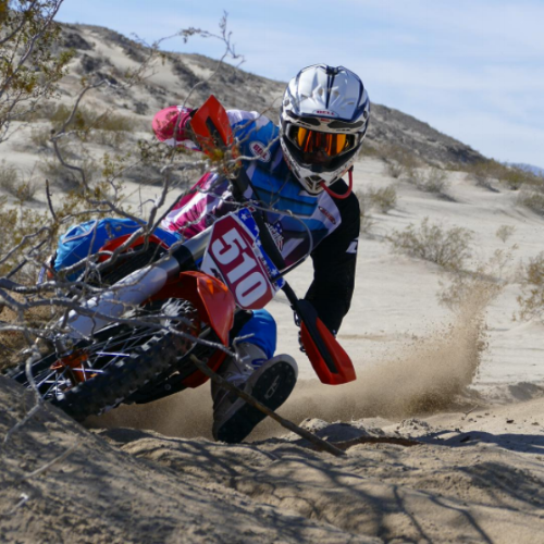 Kurt Caselli Memorial Scholarship winner Starr Savage is currently focused on his graduation from SDSU this May and will soon return to racing various WORCS and Big 6 GP races while continuing towards graduate school.  Courtesy of Starr Savage, photo by Eric Rios