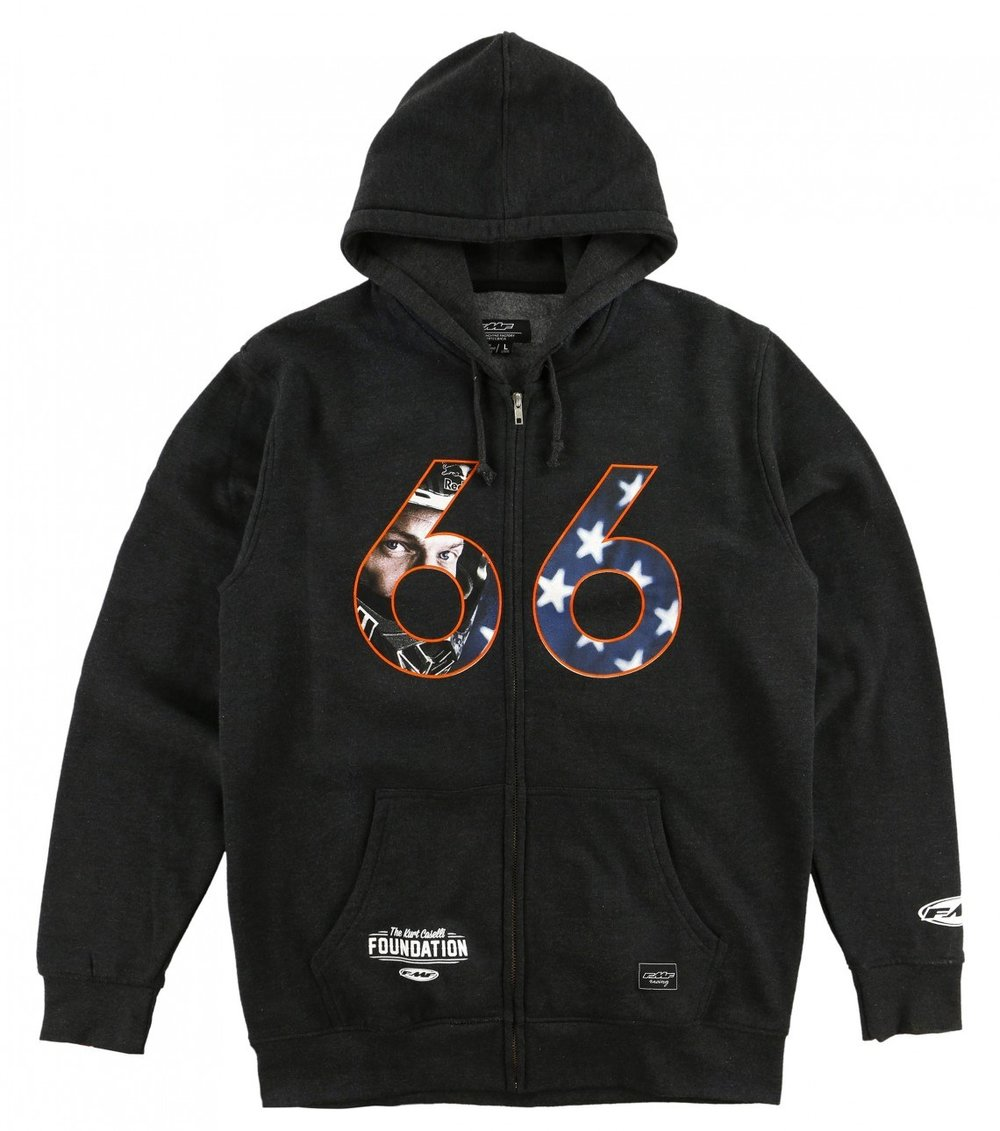 KC Straight Sixes Hooded Zip-Up