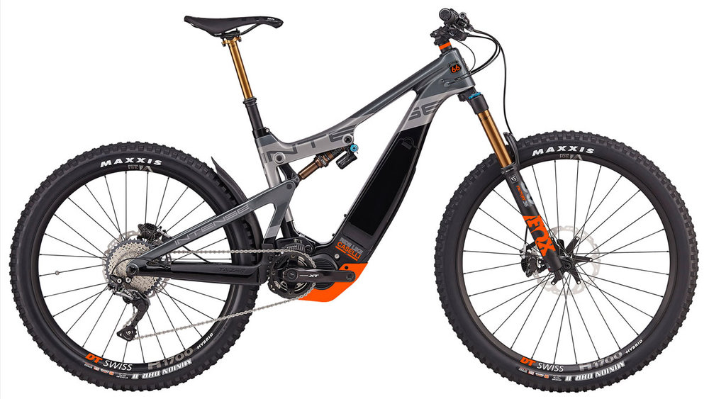 WIN THIS! - A Custom KC66 Edition Tazer Electric MTB from Intense Cycles!
