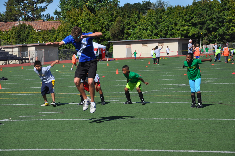 My Yute Soccer provides free soccer camps and a teen mentor program.