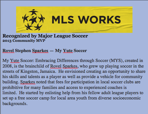 Learn more about  MLS Works .