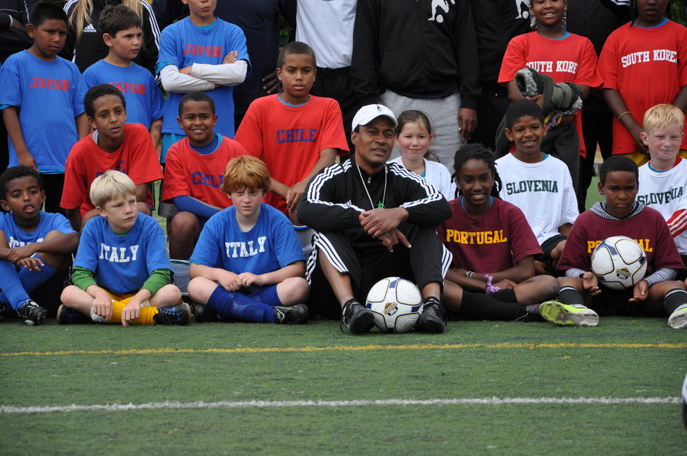 My Yute Soccer provides FREE soccer camps and a teen mentor program